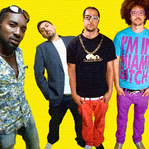 LMFAO vs Supafly Inc - The Party Rock Anthem Is Moving Too Fast (DJ BgM Remix)