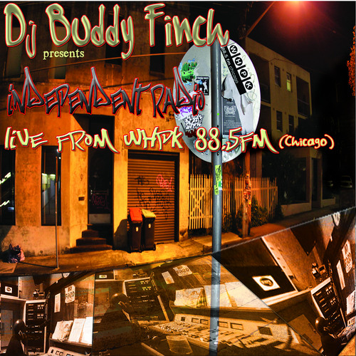 Dj Buddy Finch Diggin in the Crates on Independent Radio WHPK 88.5fm Chicago