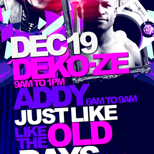 "Addy vs. Deko-ze: ""Just Like The Old Days"" at Comfort Zone - Dec 19 2010 (Part 1)"