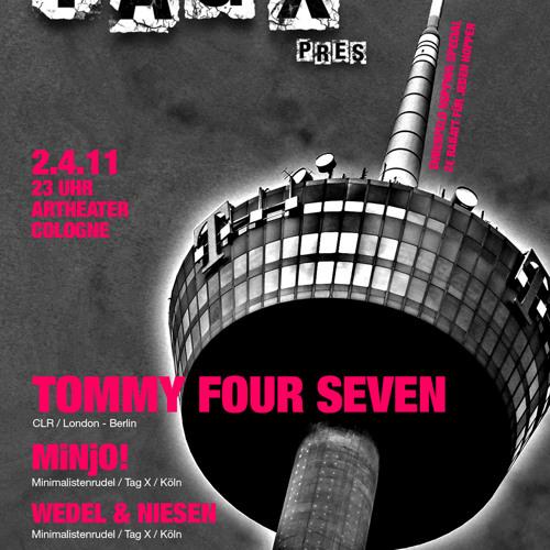 MiNjO! @ Tag X, artheater Cologne 2.4.11