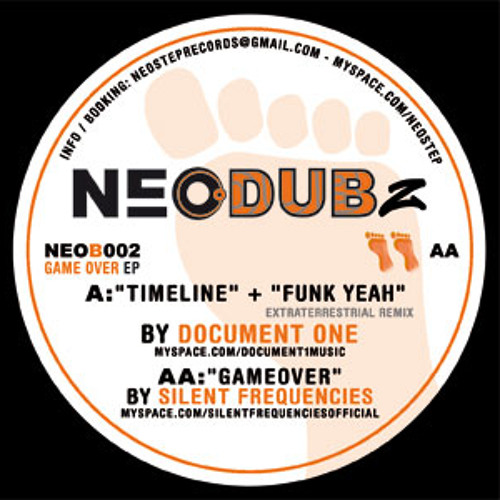 """Silent Frequencies - Game Over - Out now on Neostep !! (12"""" Vinyl)"""
