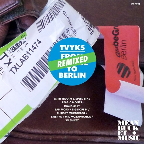 Tvyks feat. C-Monts - Speed Bike (Big Dope P & Mr. Mozaphanka Remix) [Meanbucket, 2011]