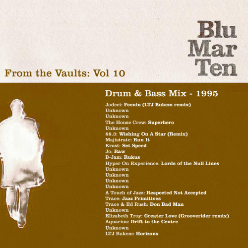 Blu Mar Ten - From the Vaults Vol 10 - Drum & Bass Mix - 1995
