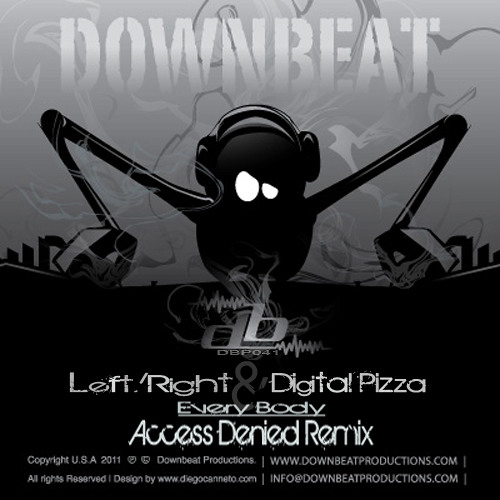 Every Body - Left/Right, Digital Pizza [Downbeat]