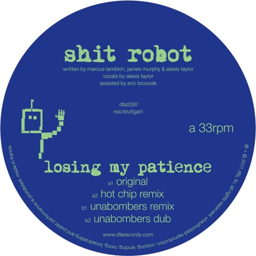 Shit Robot - Losing My Patience (Radio Edit)
