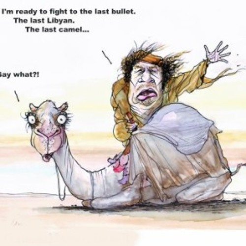 I wouldn't kiss that Camel for all the Oil in LIbya, Dave McKeown with Colonel Qadaffi