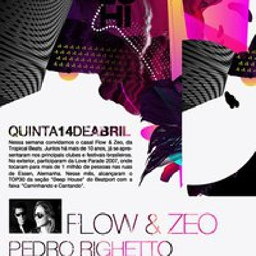 Flow & Zeo dj mix @ 5uinto Brasília 14/04/2011