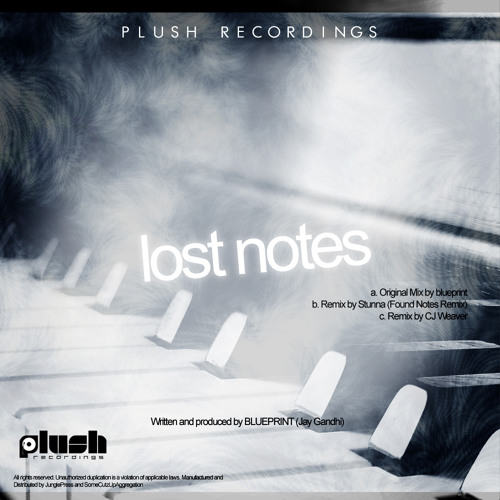 Blueprint - Lost Notes (Stunna's Found Notes Remix) [Plush Recs] clip *OUT NOW*