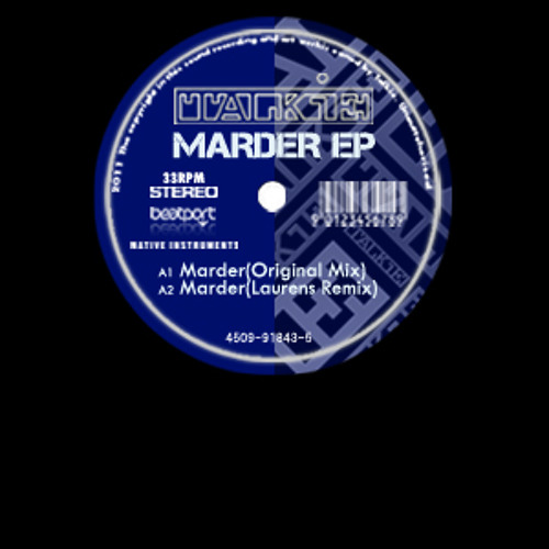TALKIE MARDER Original Mix_progressive house