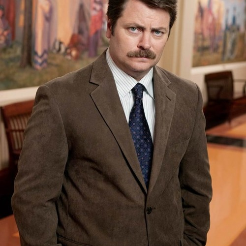Nobody tells ron swanson what to do (Free Download)