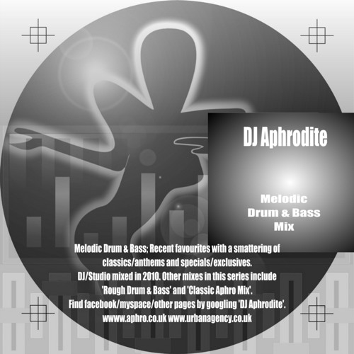 DJ Aphrodite - Melodic Mix CD 2010