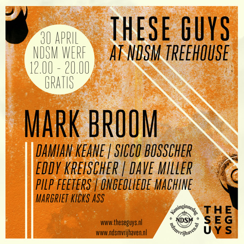 Opening-set at These Guys at NDSM Treehouse