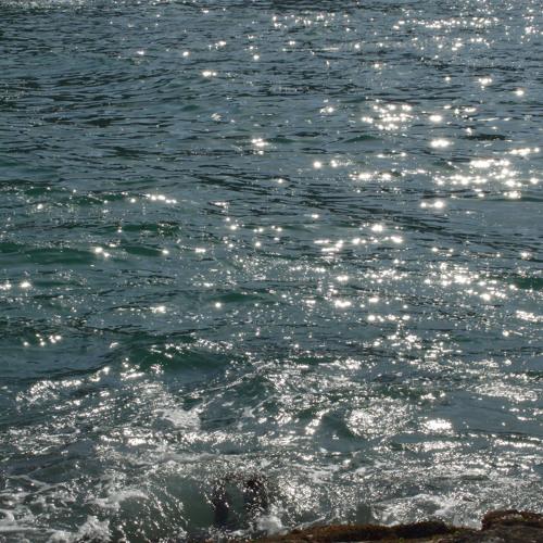 Untouched sea wave