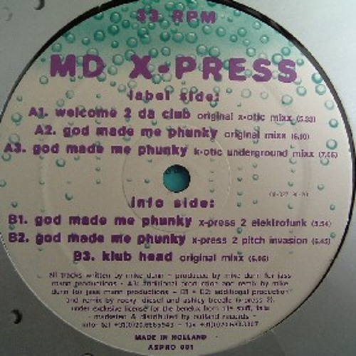 MD-Xpress – God Made Me Phunky (Ablekid Summer Groove Rmx) free