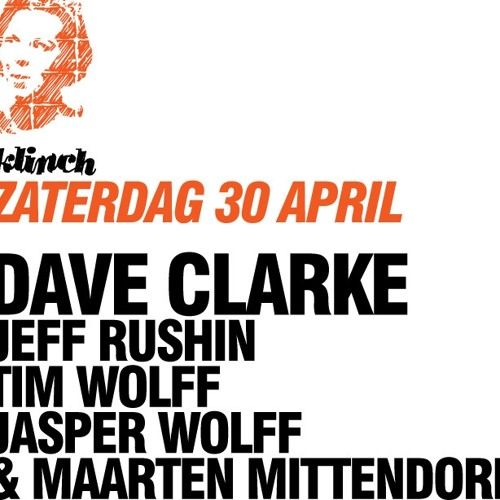 DJ Set @ Dave Clarke Invites/Klinch, Melkweg, Queensday 2011