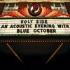 An Acoustic Evening w Blue October/09 X Amount of Words