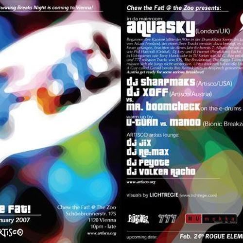 Sharpmaks @ Chew the Fat! 27-01-07 supporting AQUASKY
