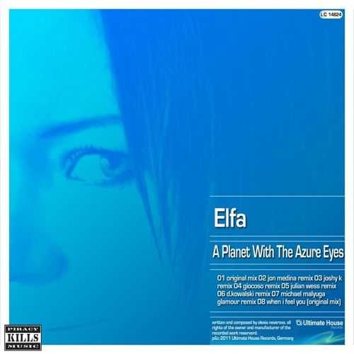 Elfa - А Planet With The Azure Eyes (Jon Medina Remix) Now for sale!!