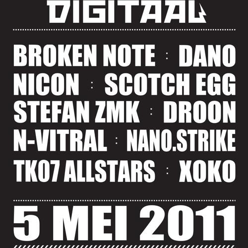 Stefan ZMK @ Kabaal Digitaal - Bevrijdingsfestival 2011 [tekno|core|breaks]