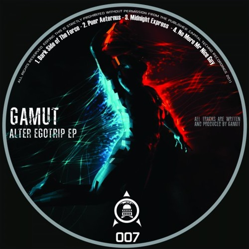 Gamut-Dark side of the Force preview. Out now @ Capital Techno records!