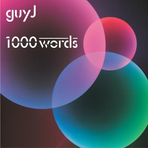 Guy J ' 1000 Words' CD 2 Mini - Mix Promo