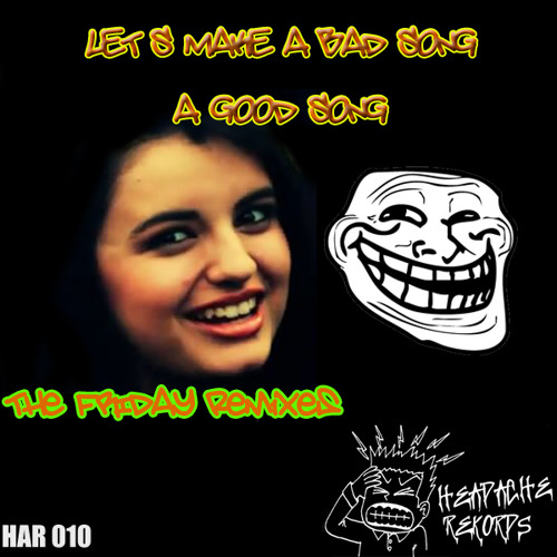 m1dlet - REBECCA BLACK HAZ TAKEN CRACK FOR THE FIRST TAIM LOAL