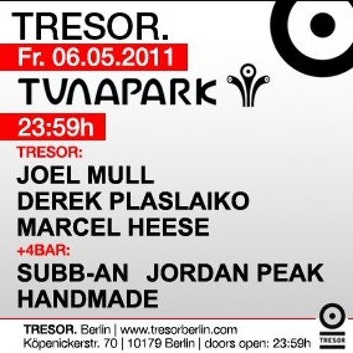 Marcel Heese @ Tresor (6th May 11)