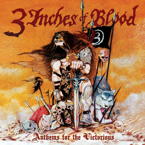 "3 INCHES OF BLOOD - Lords of Change (7"")"
