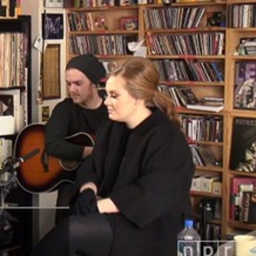 Adele - Rolling in the Deep - Acoustic (NPR TINY DESK)