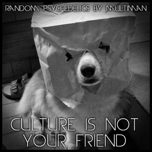 CULTURE IS NOT YOUR FRIEND - Random Psychedelics - Vol 1 - by Multiman