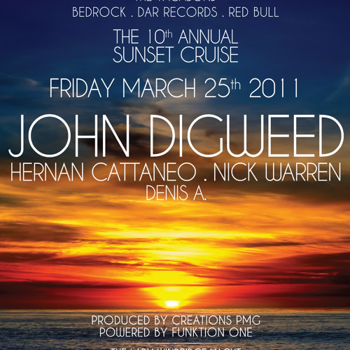 The 10th Annual Sunset Cruise Pt 1 Nick Warren, Denis A, Hernan Cattaneo