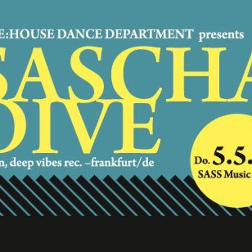 SPAG @ Ware:house pres. SASCHA DIVE (Cocoon, Deep Vibes - D) / SASS, Vienna 05 May 2011