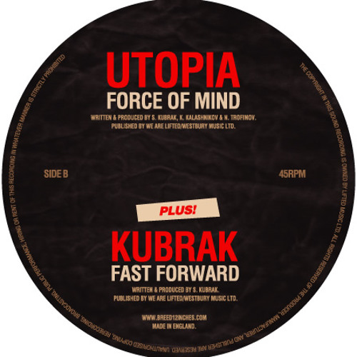 BRD003 - Kubrak - Force Of Mind / Fast Forward