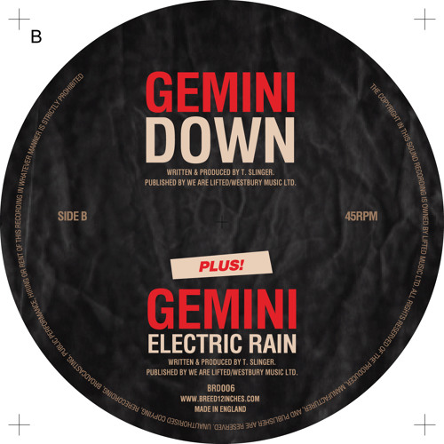 Gemini - Down (Breed 12 Inches)