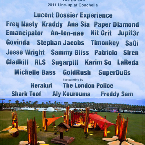 Sammy Bliss live @ Coachella 2011 (Download at pocketunderground.com)