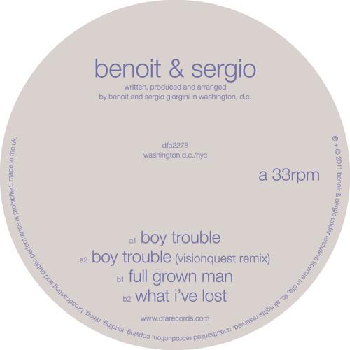 dfa2278: Benoit & Sergio - Boy Trouble (radio edit)