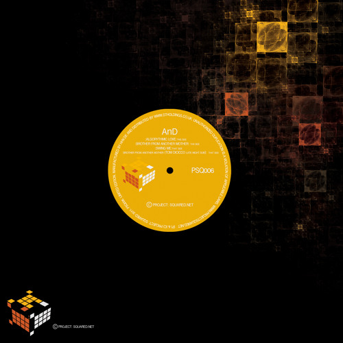 PSQ006 - AnD - Algorythmic Love EP (feat. Tom Dicicco Remix) - www.projectsquared.net