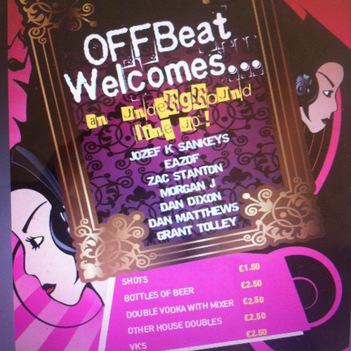 OFFBeat Promo Mix. J Rock & Grant Tolley