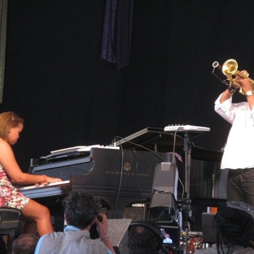 Terence Blanchard and Sidney Bechet Blanchard at NOLA Jazz Fest 2011