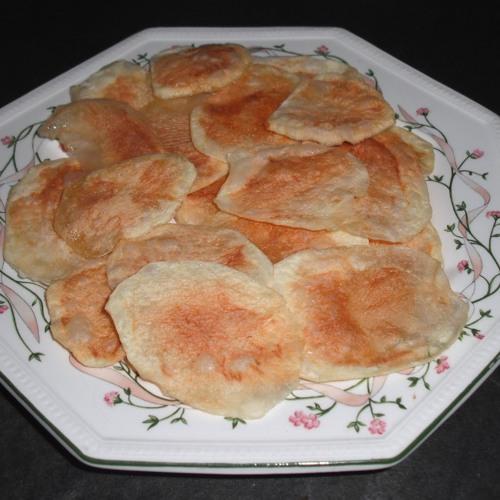 Crisps on a Plate