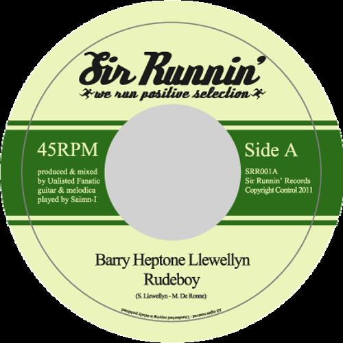 SRR001 - Barry Heptone Llewellyn - Rudeboy + Unlisted Fanatic - Rudeboy dub