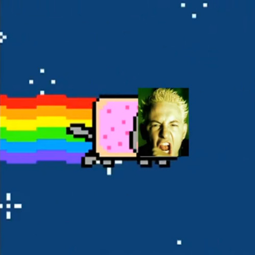 Linkin Park & Nyan Cat - Nyan nyan blood in your eye (by linkingabo)