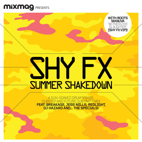SHY FX MIXMAG COVER CD SAMPLER