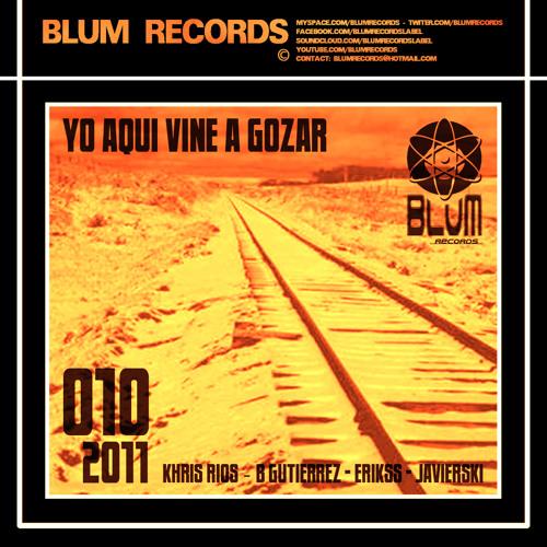 KHRIS RIOS & B GUTIERREZ - YO AQUI VINE A GOZAR (Original Mix)