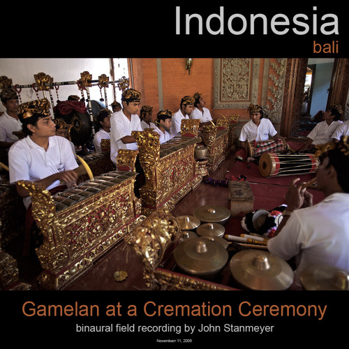 Gamelan at a Cremation Ceremony