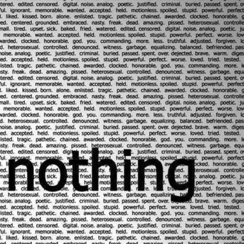 When You Say Nothing All