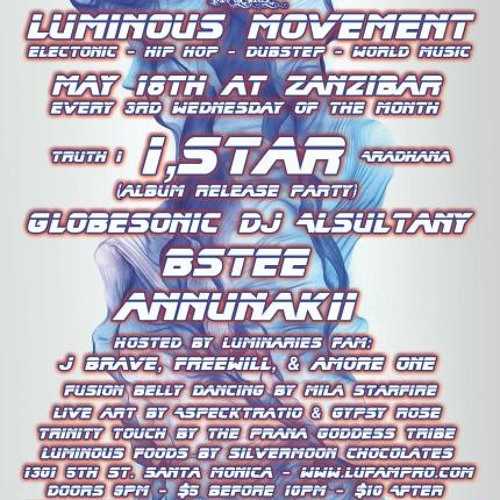 DJ Alsultany LIVE @ Luminous Movement Party, May 2011
