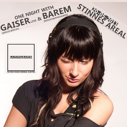20.05.11 Miss Flora @ Stinnes Areal Mix ('One Night With Gaiser & Barem' party)