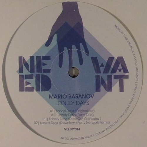 Mario Basanov - Lonely Days (Plate Dub) 12''