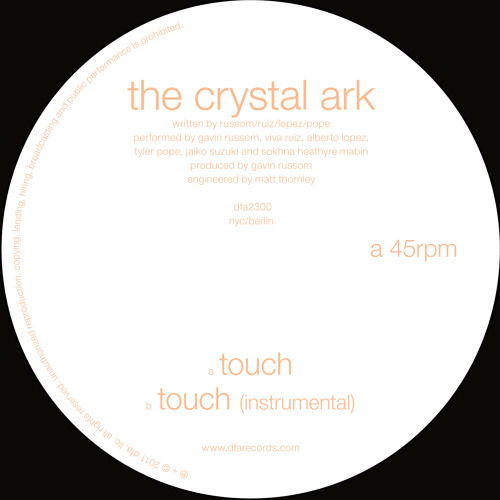 The Crystal Ark - Touch